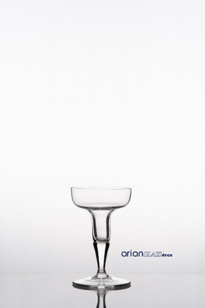 Sfesnic sticla transparenta H 15 D96 cm