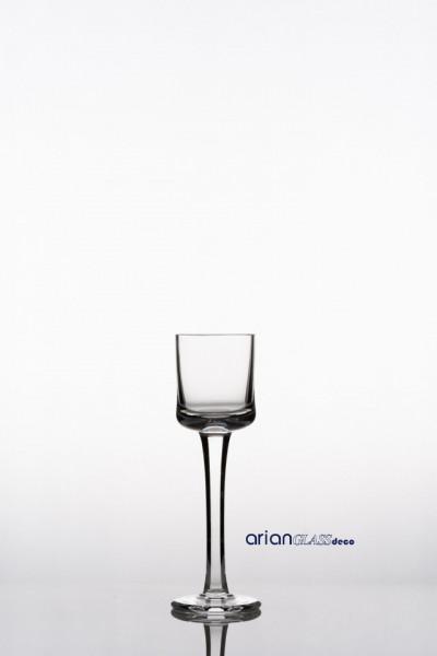 Poze Sfesnic sticla transparenta H 20 D 6 cm