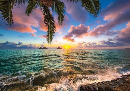 Sunset above the ocean - 11748