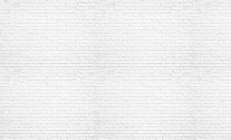 White brick wall imitation wallpaper - 1782