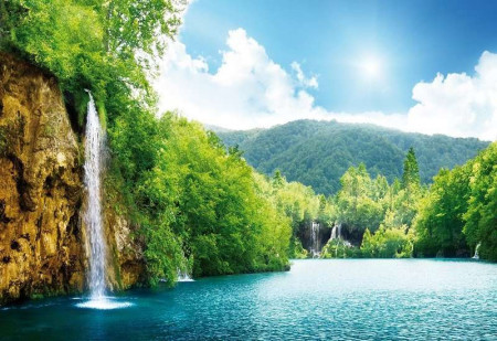 Exotic tropical place wall mural - 145