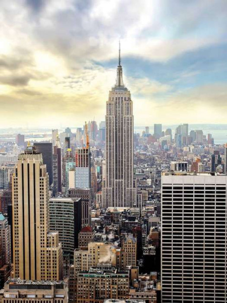 Manhattan wallpaper, Empire state building - 2317A