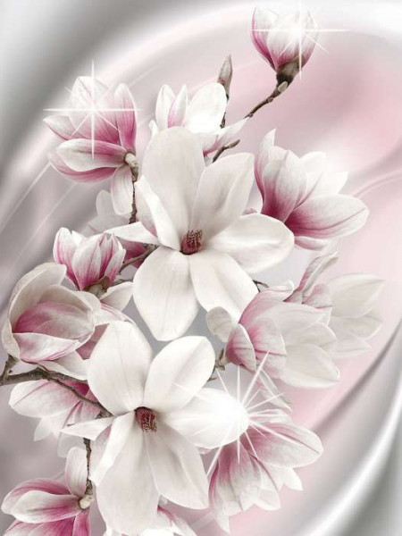 Tender floral motifs photowall image - 3017A