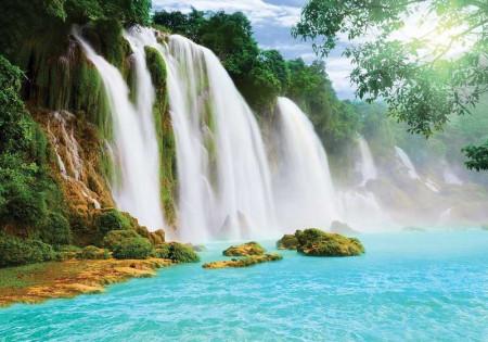Beautiful tropical waterfalls wallpaper - 10386