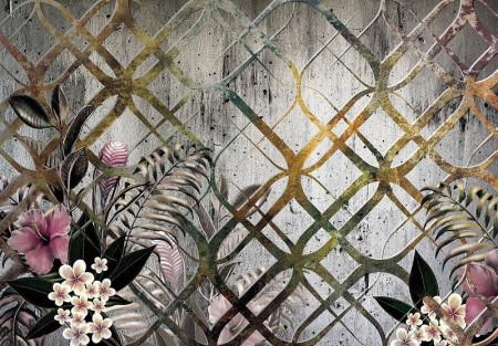 Floral art photowall - 13584