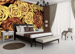 Faded photo effect wall mural -12579