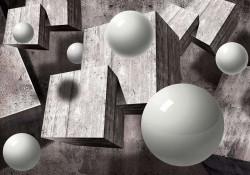 Futuristic black and white image - 10235