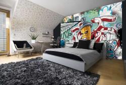 Graffiti indoor wall mural - 1397
