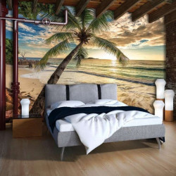 Sunrise wall mural - 11732
