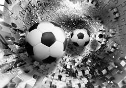 Football fan wallpaper with 3D effect - 3382