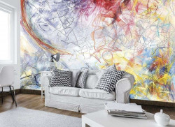 Large painting Wall Mural for the living room - 10006