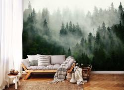 Misty forest wallpaper - 13026