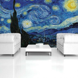 Oil paints painting photo wallpaper - 028