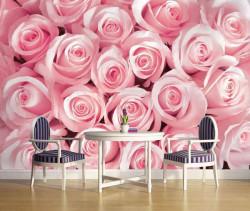 Pink roses photo wallpaper -2168