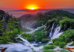 Sunset calming wallpaper - 13055
