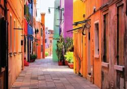 Mediterranean street view wallpaper - 10745