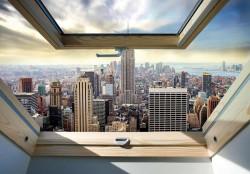 Penthouse view New York wallpaper - 10415