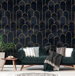 Dark-mode wall mural for bedroom - 13616