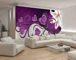 Deep pink accents wallpaper -703