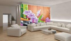 Purple orchids zen wallpaper -115