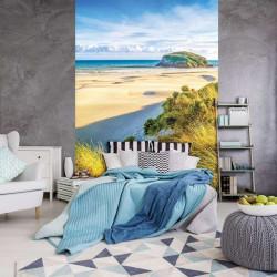 Sand dunes on a sunny beach mural - 10248A