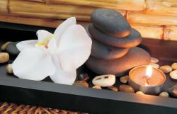 Zen themed wall mural, relaxing image -10188