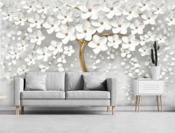 Art photowall blossom motifs - 13589