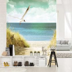 Beach sand dune wall mural - 11595A