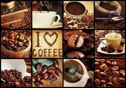 Large coffee theme photo collage - C04145