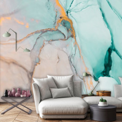 Marble pattern photo wall collage - 13554