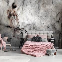 Semi-clear amazing image, black and white art wallpaper - 13694