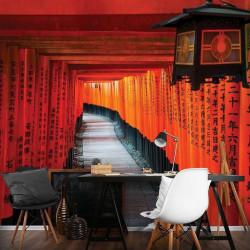 Spring festival Mandarin couplets photowall - 12663