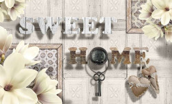 Sweet Home text photo wallpaper - 3499