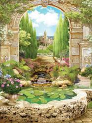 Fairy garden wallpaper - 11428A