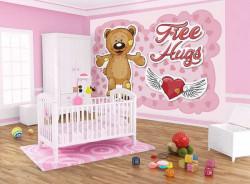 Free hugs text wallpaper for children - 12802