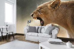 Lionesse wall mural - 3615
