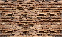 Stone blocks wall imitation - 1927
