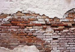 Cracked brick wall wallpaper - 10182