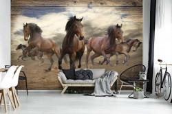 Galloping horses wallpaper - 10083