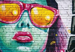 Graffiti style photowall - 12603