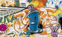 Grafiti indoor poster - 1398