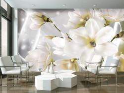 Tender Floral wall mural - 3508