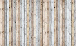 Wooden boards imitation wall decor - 1036