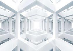 3D forms art sci-fi image - 10161