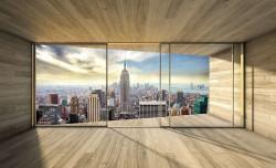 3d wallpaper for bedroom - New York city view - 3306