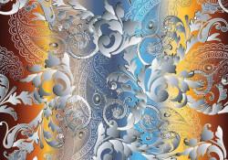 Impressive and colourful wall decor - 13044
