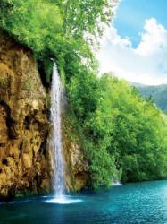 Tropical waterfall wall mural - 10201A