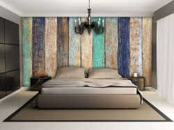 Wooden texture wallpaper in different colors - 1999