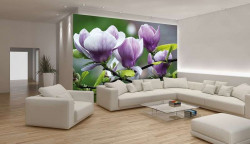 Blossomed twigs, zen style wall decal -160