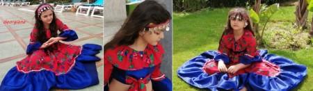 Poze Miss Mignon - Costum etno-tiganesc, Gipsy Style fete 4-12 ani